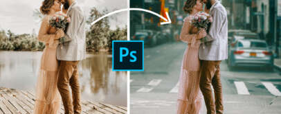 Bilder verschmelzen in Photoshop